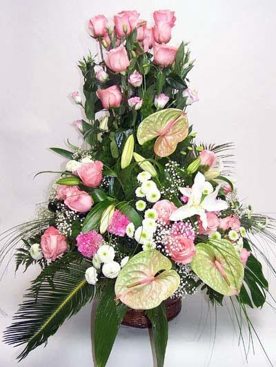 Bolu ucuz çiçek gönder  özel üstü süper aranjman