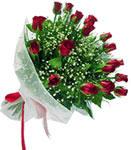 Bolu internetten çiçek satışı  11 adet kirmizi gül buketi sade ve hos sevenler