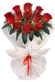11 adet gül buketi  Bolu internetten çiçek siparişi  kirmizi gül