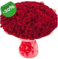 Özel mi Özel buket 101 adet kırmızı gül  Bolu anneler günü çiçek yolla