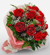 12 adet kırmızı güllerden kaliteli gül  Bolu çiçek siparişi vermek