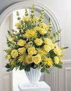 Bolu çiçek siparişi sitesi  sari güllerden sebboy tanzim çiçek siparisi