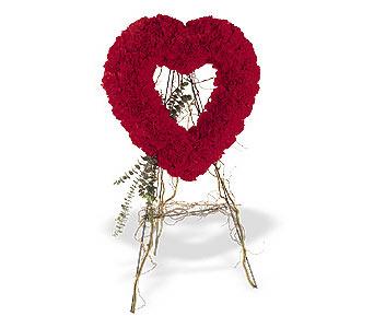 Bolu internetten çiçek satışı  karanfillerden kalp pano