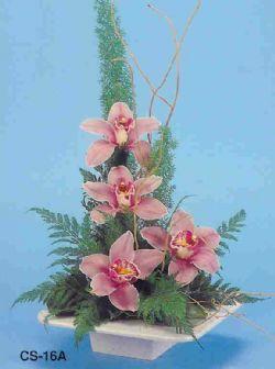 Bolu çiçekçi telefonları  vazoda 4 adet orkide