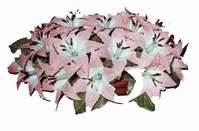 yapay karisik çiçek sepeti   Bolu çiçekçi mağazası