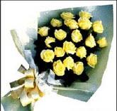 sari güllerden sade buket  Bolu çiçek , çiçekçi , çiçekçilik