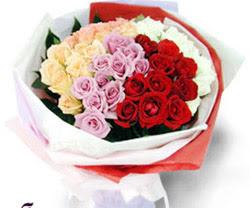 SEVENLERE ÖZEL 51 ADET GÜL  Bolu internetten çiçek satışı