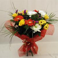 Bolu hediye çiçek yolla  Karisik mevsim demeti