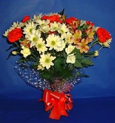 Bolu hediye çiçek yolla  kir çiçekleri buketi mevsim demeti halinde