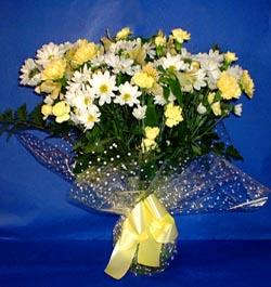 Bolu hediye çiçek yolla  sade mevsim demeti buketi sade ve özel