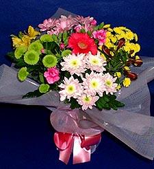Bolu hediye çiçek yolla  küçük karisik mevsim demeti