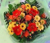 Bolu ucuz çiçek gönder  sade hos orta boy karisik demet çiçek