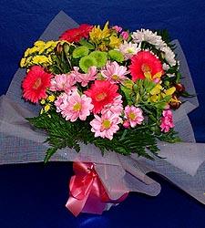 karisik sade mevsim demetligi   Bolu 14 şubat sevgililer günü çiçek