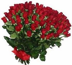 51 adet kirmizi gül buketi  Bolu çiçekçiler