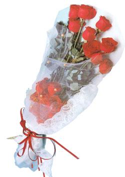 11 adet kirmizi güller buket tanzimi   Bolu çiçek siparişi sitesi