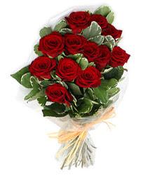 Bolu çiçek yolla , çiçek gönder , çiçekçi   9 lu kirmizi gül buketi.