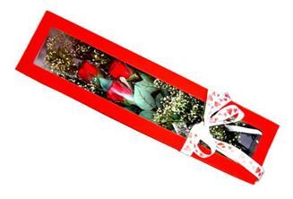 Bolu hediye çiçek yolla  Kutuda 3 adet gül