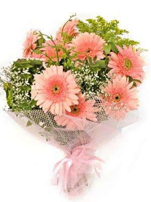 Bolu çiçek satışı  11 adet gerbera çiçegi buketi