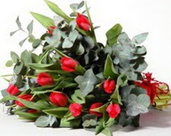 Bolu çiçek satışı  11 adet kirmizi gül buketi özel günler için