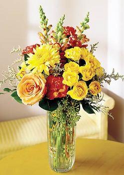 Bolu 14 şubat sevgililer günü çiçek  mika yada cam içerisinde karisik mevsim çiçekleri