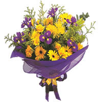 Bolu çiçek gönderme sitemiz güvenlidir  Karisik mevsim demeti karisik çiçekler