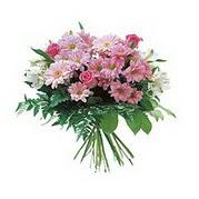 karisik kir çiçek demeti  Bolu çiçek satışı