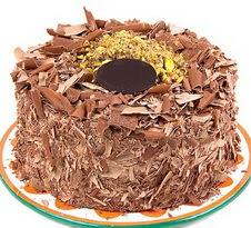 çikolatali 4 ile 6 kisilik yas pasta  Bolu çiçek servisi , çiçekçi adresleri