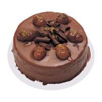 Kestaneli çikolatali yas pasta  Bolu çiçek , çiçekçi , çiçekçilik