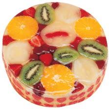 Meyvali 4 ile 6 kisilik yas pasta leziz  Bolu hediye çiçek yolla