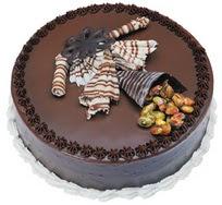 Çikolatali yas pasta 4 ile 6 kisilik  leziz  Bolu çiçek mağazası , çiçekçi adresleri