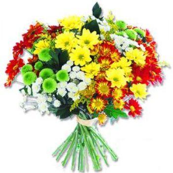Kir çiçeklerinden buket modeli  Bolu online çiçek gönderme sipariş