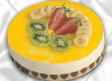 pasta gönderme 4 ile 6 kisilik yas pasta muzlu yaspasta  Bolu çiçek mağazası , çiçekçi adresleri