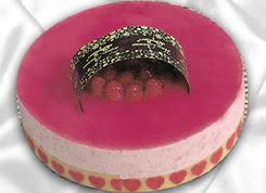 pasta siparisi 4 ile 6 kisilik yas pasta framboaz yaspasta  Bolu güvenli kaliteli hızlı çiçek
