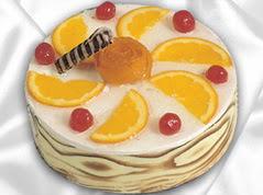 lezzetli pasta satisi 4 ile 6 kisilik yas pasta portakalli pasta  Bolu çiçekçi mağazası