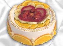 leziz pastane 4 ile 6 kisilik yas pasta meyvali yaspasta  Bolu kaliteli taze ve ucuz çiçekler