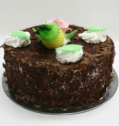 4 ile 6 kisilik yas pasta çikolatali leziz pastane ürünü  Bolu cicekciler , cicek siparisi