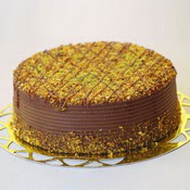 sanatsal pastaci 4 ile 6 kisilik krokan çikolatali yas pasta  Bolu cicek , cicekci