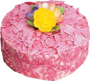 pasta siparisi 4 ile 6 kisilik framboazli yas pasta  Bolu çiçek yolla