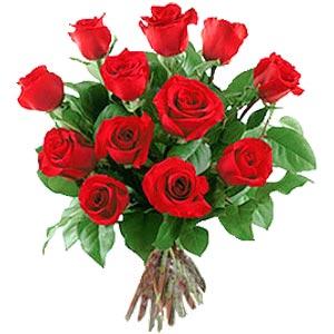 11 adet bakara kirmizi gül buketi  Bolu güvenli kaliteli hızlı çiçek
