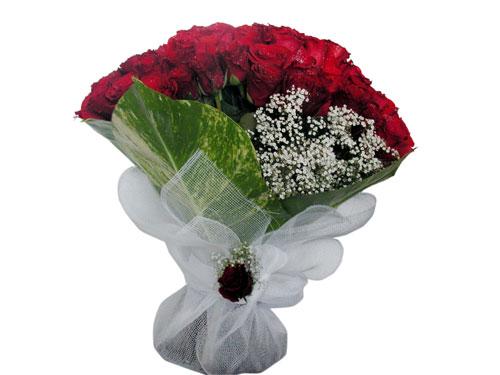 25 adet kirmizi gül görsel çiçek modeli  Bolu çiçek servisi , çiçekçi adresleri