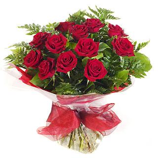 Ucuz Çiçek siparisi 11 kirmizi gül buketi  Bolu çiçek online çiçek siparişi