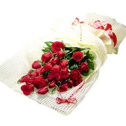 Çiçek gönderme 13 adet kirmizi gül buketi  Bolu çiçek satışı