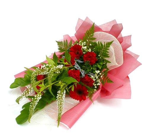 Karisik çiçek buketi mevsim buket  Bolu çiçek siparişi sitesi