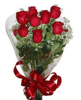 Çiçek sade gül buketi 7 güllü buket  Bolu online çiçek gönderme sipariş