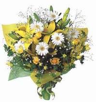 Bolu ucuz çiçek gönder  Lilyum ve mevsim çiçekleri