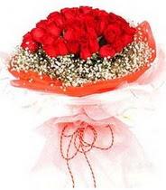 Bolu hediye sevgilime hediye çiçek  21 adet askin kirmizi gül buketi
