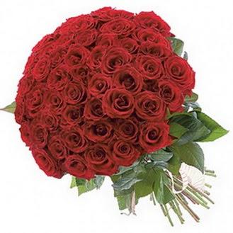 Bolu güvenli kaliteli hızlı çiçek  101 adet kırmızı gül buketi modeli