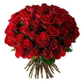 Bolu çiçek , çiçekçi , çiçekçilik  33 adet kırmızı gül buketi