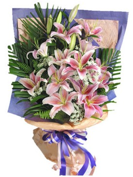 7 dal kazablankadan görsel buket  Bolu kaliteli taze ve ucuz çiçekler