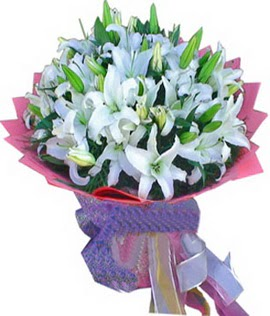 7 dal cazablanca görsel buketi  Bolu çiçekçi mağazası